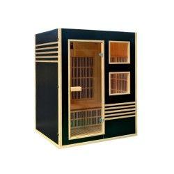 Cabine de sauna infrarouge sweden - 3 places - 150