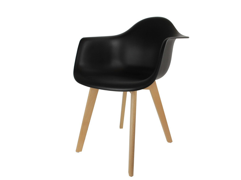 fauteuil scandinave noir vente de les douces nuits de mae conforama. Black Bedroom Furniture Sets. Home Design Ideas