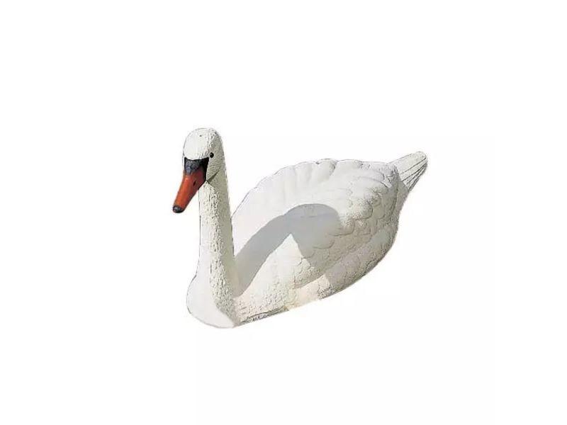 Icaverne - accessoires pour fontaines et bassins categorie ubbink cygne blanc plastique décoration de bassin