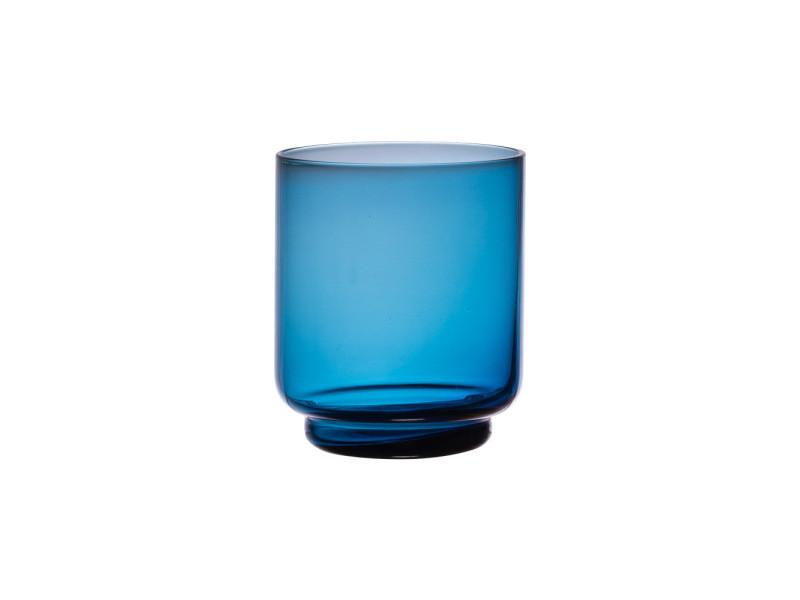 Verre oslo bleu indigo 33 cl (lot de 6)