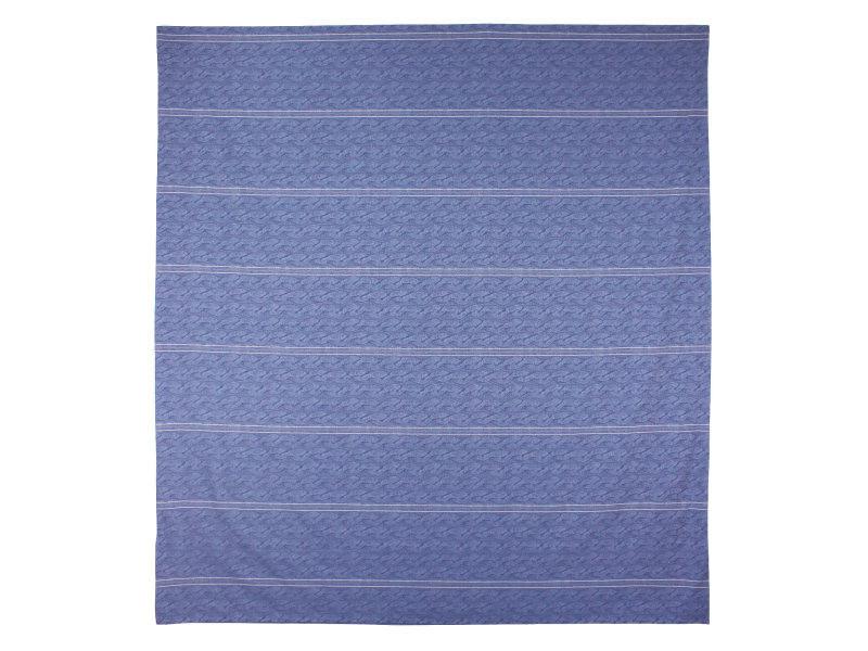 housse de couette 280x240 cm satin de coton vendome bleu fonc vente de linnea conforama. Black Bedroom Furniture Sets. Home Design Ideas