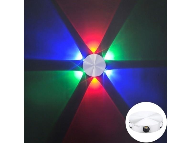 Murale En Style Luminaire 480 Yk2241 6w Applique Lm Leds Rond 6 kPiZXuO