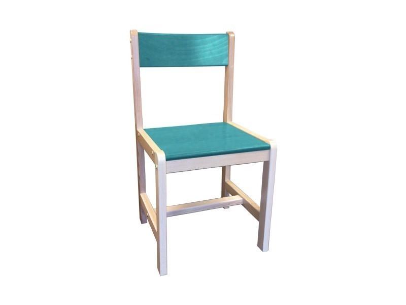 chaise en bois eco conforama. Black Bedroom Furniture Sets. Home Design Ideas