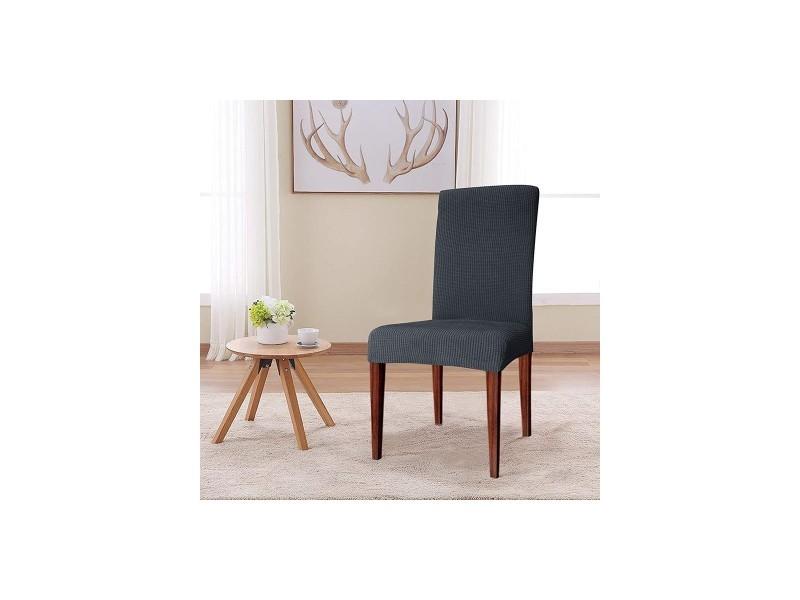 Housse extensible pour chaise - Vente de Housse et galette de chaise - Conforama