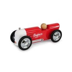 Petite voiture en métal thunder rouge