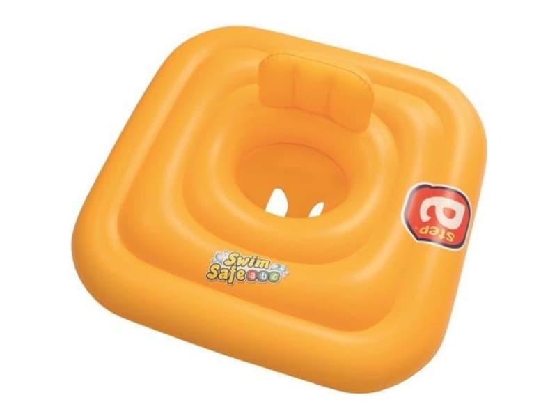 Support pour bébé swim safe step a - 69 x 69 cm - jaune BES6942138949667