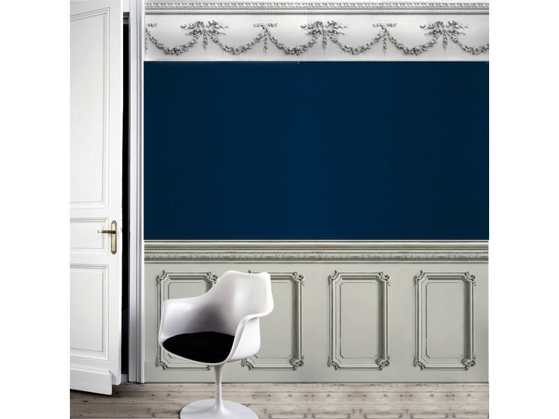 papier peint soubassement haussmannien gris vente de koziel conforama. Black Bedroom Furniture Sets. Home Design Ideas