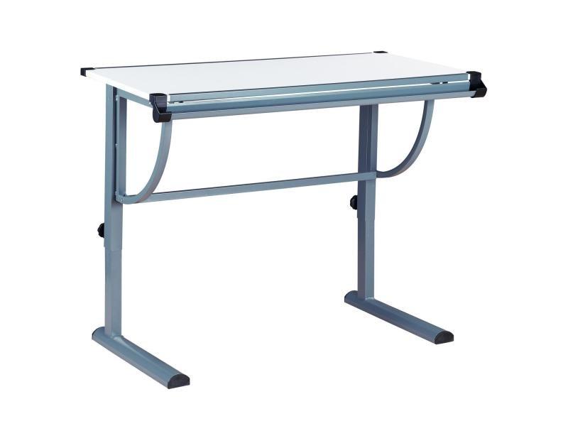 bureau enfant colier junior conny table dessin r glable en hauteur et plateau inclinable en. Black Bedroom Furniture Sets. Home Design Ideas