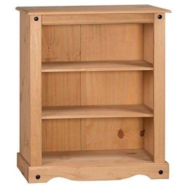 corona biblioth que pin conforama. Black Bedroom Furniture Sets. Home Design Ideas