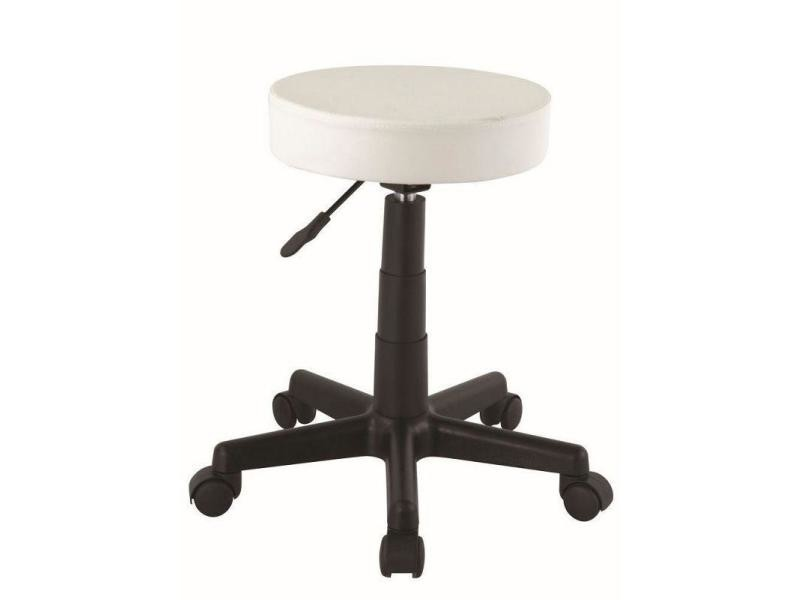 affordable tabouret roulette hauteur rglable coiffeur crme tabo vente de bar et tabouret de bar. Black Bedroom Furniture Sets. Home Design Ideas