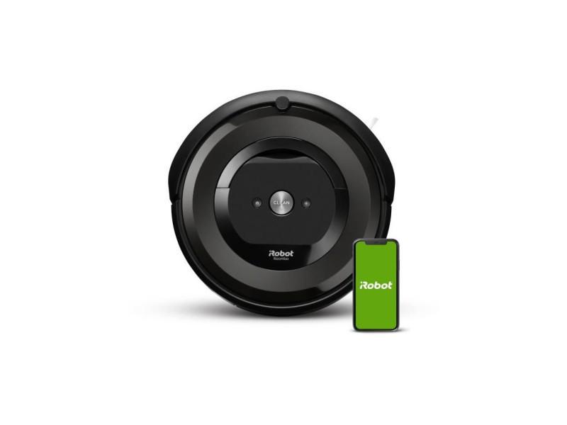 Irobot roomba e6192 - aspirateur robot - bac 0,45l - batterie lithium-ion - 2 brosses multi-surfaces - irobot home IRO5060629987057