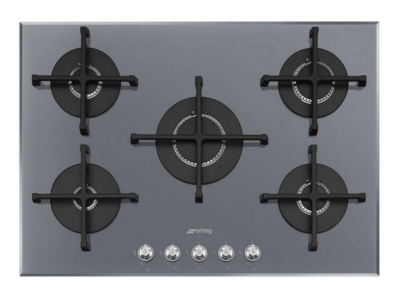 table de cuisson gaz 74cm 5 feux 10300w gris pv175s2 pv175s2 vente de plaque de cuisson. Black Bedroom Furniture Sets. Home Design Ideas