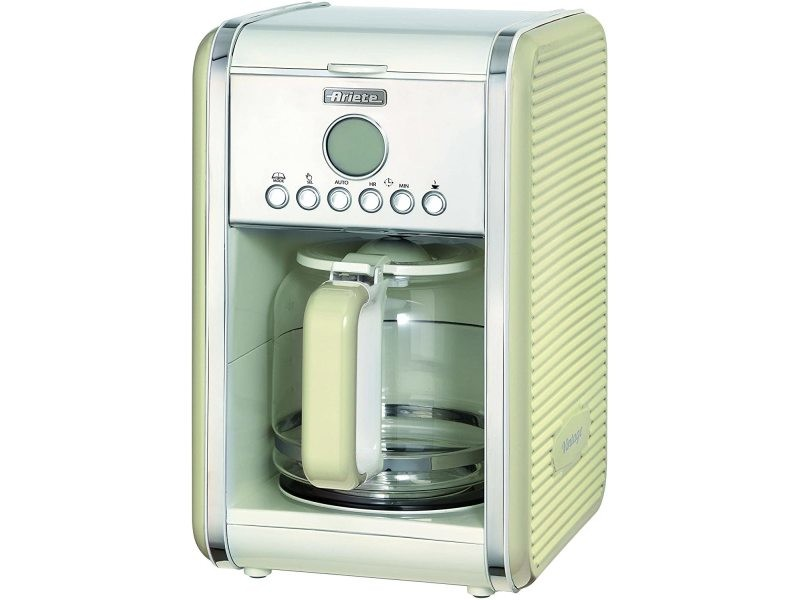Machine à café américaine programamble pour 1,5l 2000w beige