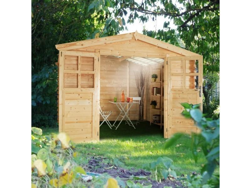 Abri de jardin soleil 6m toiture lumineuse 28 mm soleil3x2 vente de abri de jardin et for Toiture abri de jardin