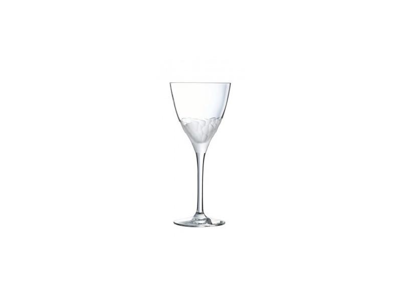 Cristal Darques Verres.Lot De 6 Verres A Pied Intuition Cristal D Arques Vente De Verre