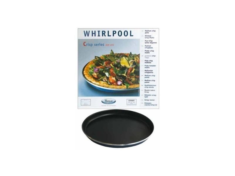 Plat crisp ø 31cm pour m.o. Whirlpool family chef/talent pour micro ondes whirlpool