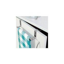 Porte-serviette pour placard acier brossé inox