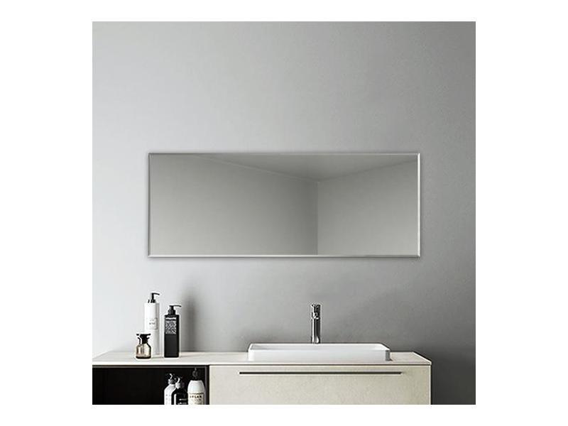 Miroir rectangulaire miroir salle bain miroir 120x45cm miroir mural miroir design