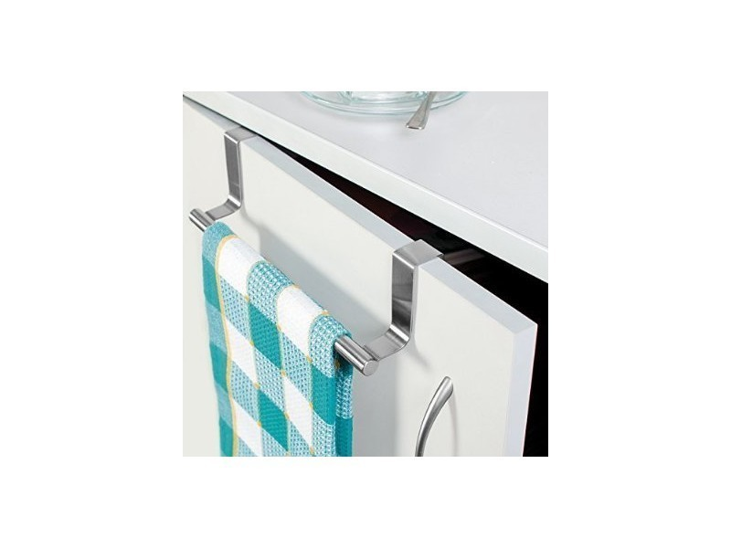 Porte serviette pour placard acier bross inox conforama - Porte serviette inox brosse ...