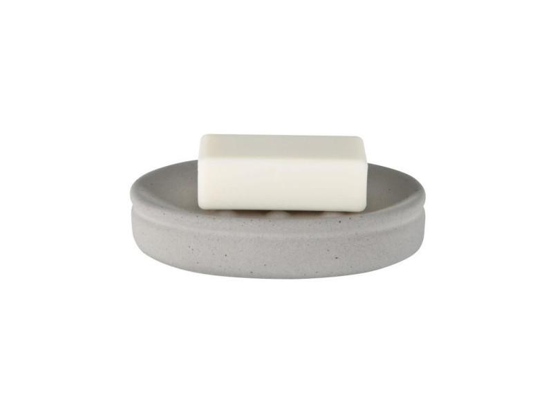 Ciment porte savon - 3 x 14 x 10 cm - gris
