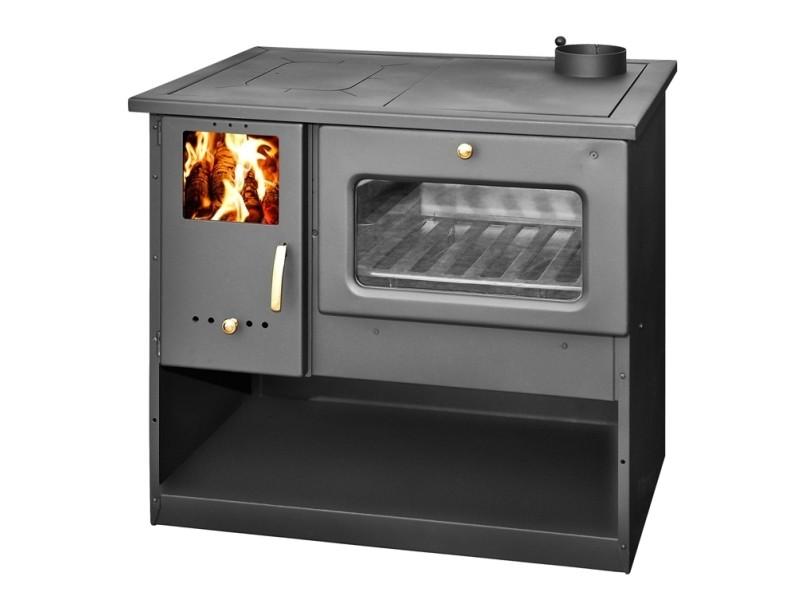 Cuisinière à bois metal lux 9kw - 12kw - Vente de Chauffage ...