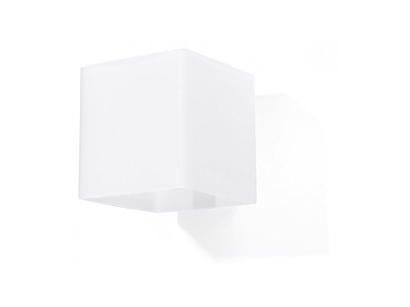 Applique murale rico verre blanc 1 ampoule