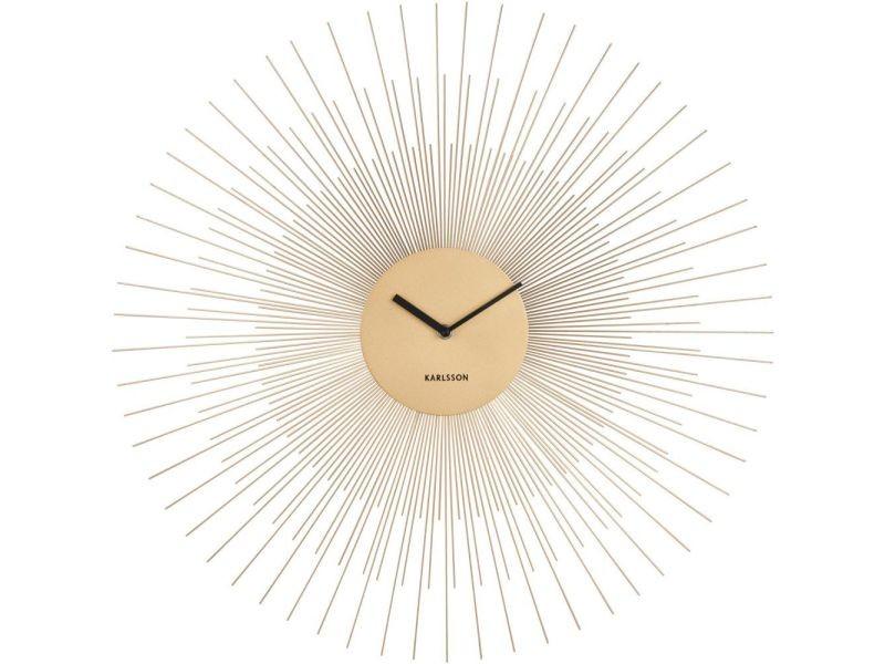Horloge en métal peony 60 cm
