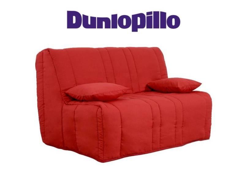 Canapé convertible bz milo griotte système slyde matelas dunlopillo 13cm couchage 160*200cm 20100875417