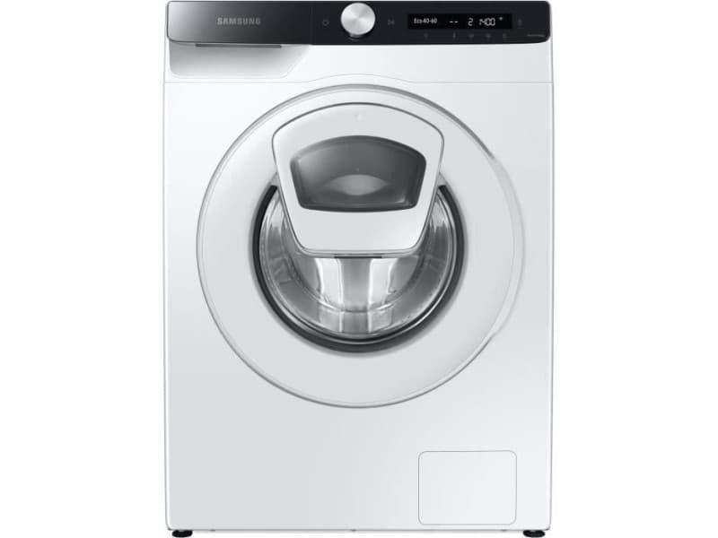 Lave-linge hublot addwash ww80t554dte/s3 - 8 kg - classe a+++ - 1400 tours/min - blanc SAM8806090607585