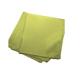 3 serviettes de table  40 x 40 cm vert