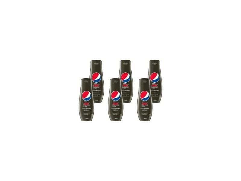 Sodastream concentré pepsi max 440ml lot de 6