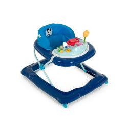 Trotteur disney player - mickey bleu