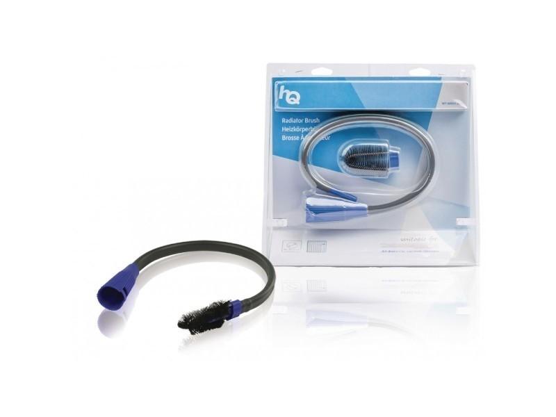 Hq brosse flexible pour radiateur 30-36 mm noir/bleu