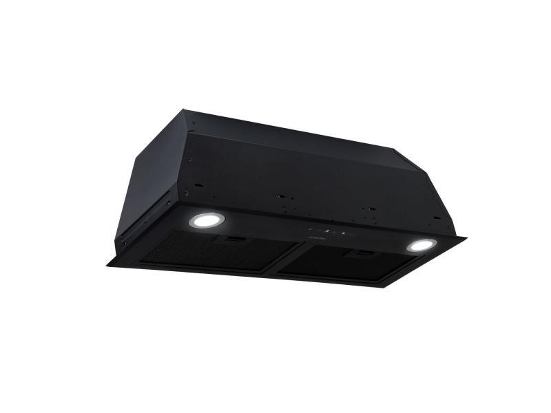Klarstein paolo hotte aspirante encastrable 72,5 cm 600 m³/h - eclairage led - classe a - noire CGCH5-Paolo-72BL