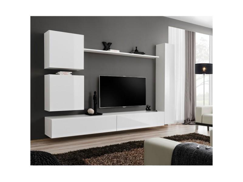 Paris Prix Meuble Tv Mural Design Switch Viii 280cm