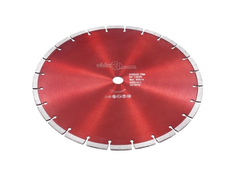 Icaverne - lames de scie ligne disque de coupe diamanté acier 350 mm