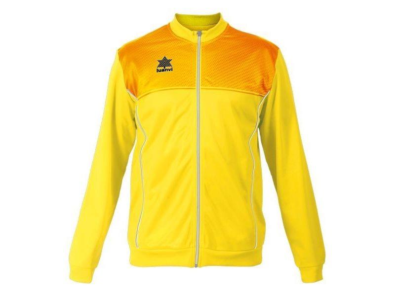 Vestes de sport stylé taille s veste de sport luanvi apolo jaune acétate