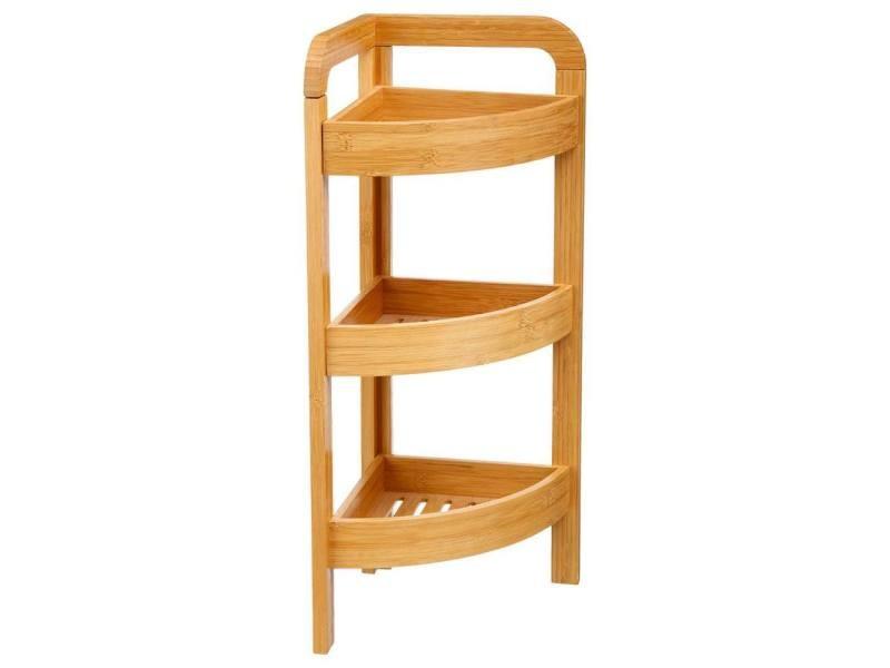 five tag re d 39 angle 3 niveaux en bambou vente de five. Black Bedroom Furniture Sets. Home Design Ideas