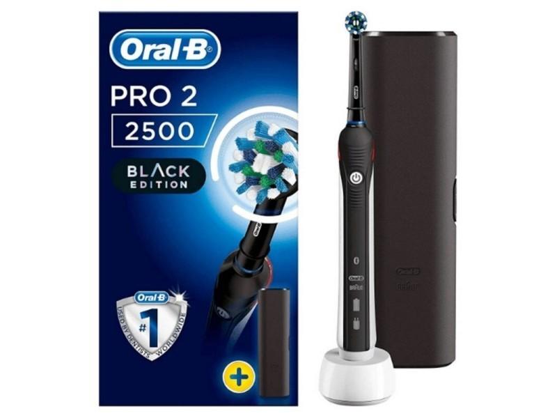 Oral b pro2500 brosse a dents électrique cross action - rechargeable