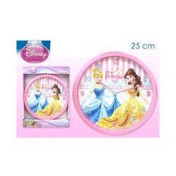 Disney princess pendule ou horloge princesses belle et cendrillon 25 cm