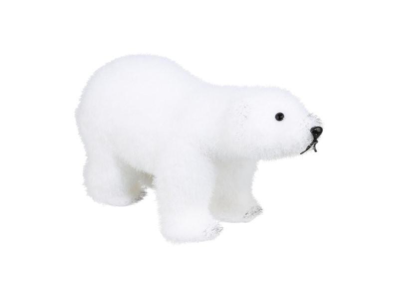 Feeric christmas - décoration de noël ours polaire sur ses 4 pattes