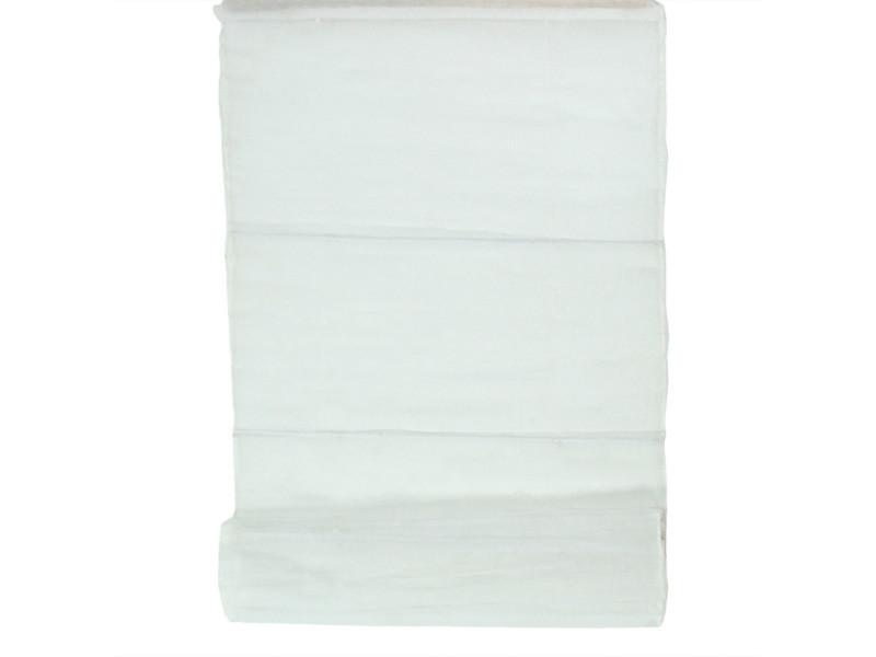 Normandy - store voilage 100% coton blanc 80x170