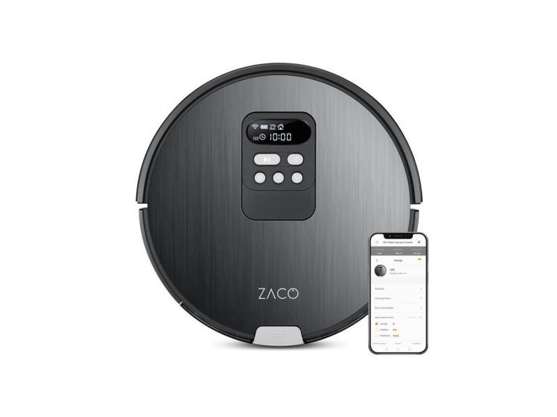 Zaco 501901 robot aspirateur laveur v85 - autonomie 130min - reservoir 750ml - puissance 22w AUC4260522140912