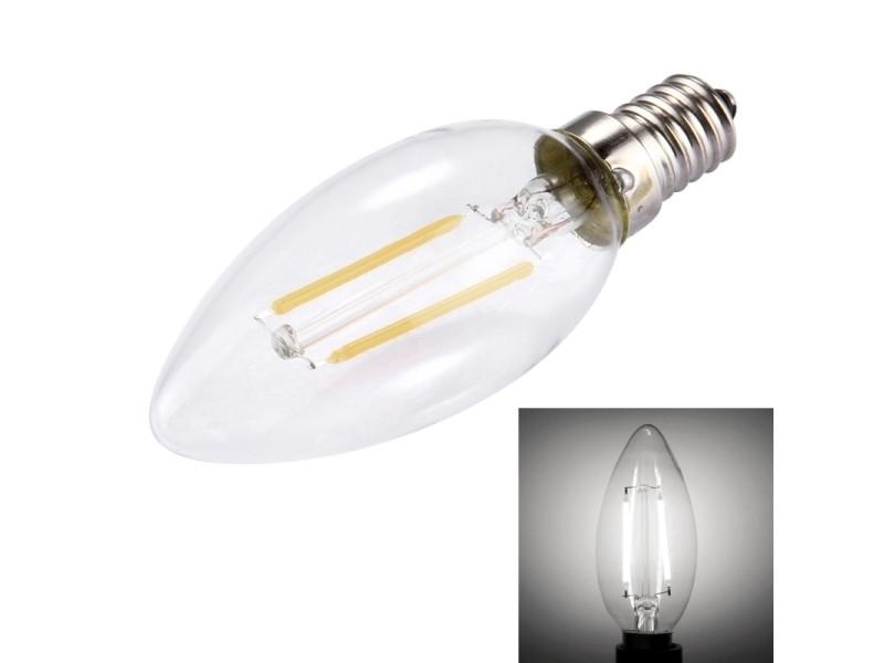 150 Lm 220v Ampoule Leds Blanche 2w C35 E14 HallsAc Pour Lumière 2 gyY7bf6v