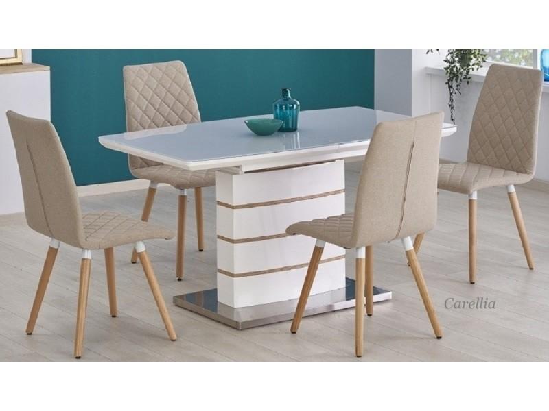 Table a manger rectangulaire extensible – l : 140 ÷ 180 cm x p : 80 cm x h : 76 cm