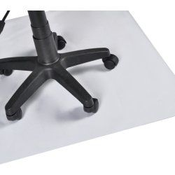 Tapis protection sol bureau pvc s 75 x 120 cm 0502014