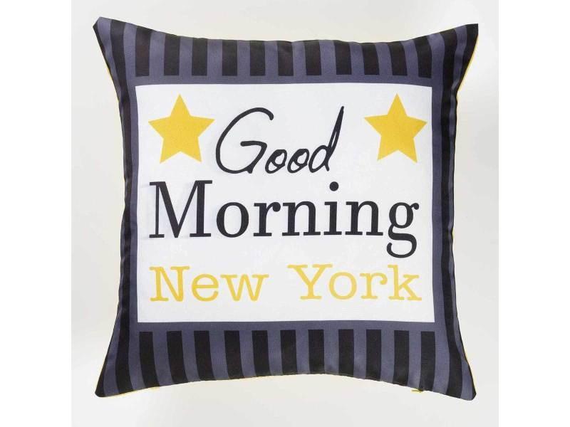 Housse de coussin - 40 x 40 cm - imprimé new york