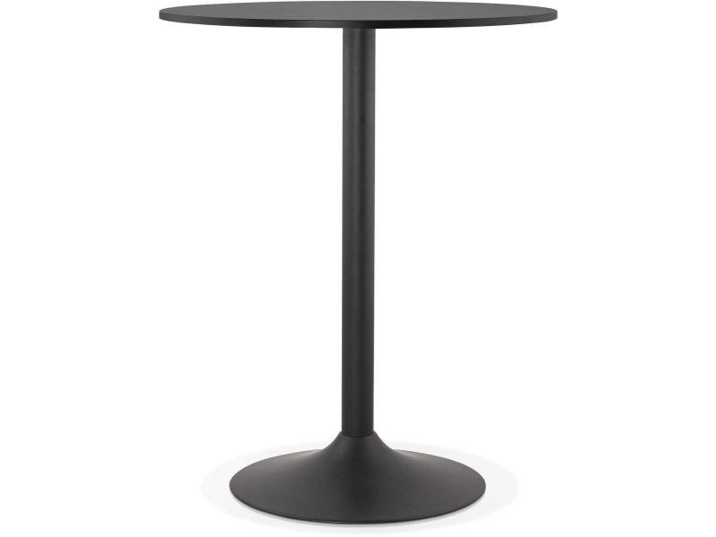 Table haute bar design tapeo BT00140BL