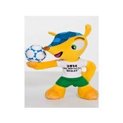 Coupe du monde de football de 2014 peluche fuleco 28 cm