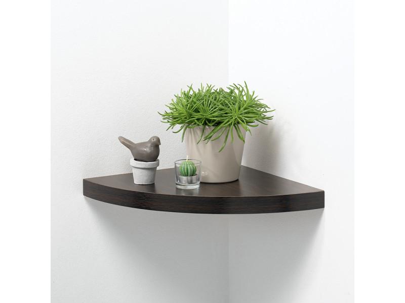 etagere d 39 angle wenge. Black Bedroom Furniture Sets. Home Design Ideas